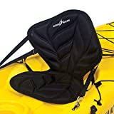 Ocean Kayak Comfort Zone 高级座椅靠背,黑色