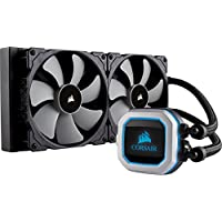 CORSAIR HYDRO 系列 PRO RGB 280 mm 散热器双140 mm ml 系列 PWM 风扇 Advanced RGB 照明 Liquid CPU Cooler 280mm
