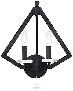Livex 照明钻石 50662 壁灯 青铜色 50662-07 需配变压器