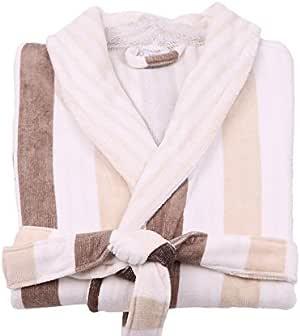lasa 经典条纹浴袍,类型吸*