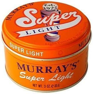 murray's light pomade & hair dressing, super light, 3 oz. by murray's