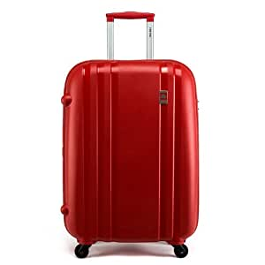 Delsey 法国大使849 PP ZIPPE 万向轮拉杆箱 旅行箱 行李箱 红色 25寸