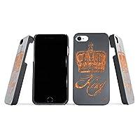 iPhone 6木 CASE & 手机 WOOD 壳 iphone 7. 适合完美自然樱桃和胡桃木重量轻独特木质手机保护套适用于 iphone 6s/7. 美国制造。 King Crown Black iPhone 6/6s & 7