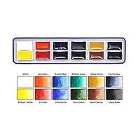 Artway 高颜料水彩颜料套装 黄色 Single 2302691