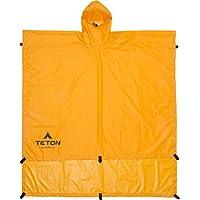 Teton 运动防水布/搁板/斗篷,橙色