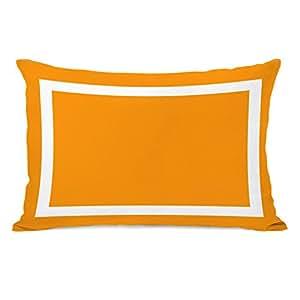 OBC Bentin Home Decor Samantha 简单方形户外抱枕 Samantha Simple Square - Orange 20x20 Pillow 11095PL20