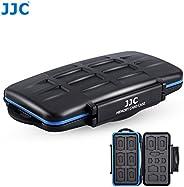 JJC MC-STM23 專業防水手機 SIM 卡和存儲卡保護盒,適用于 8 SD + 8 MSD + 2 個 SIM + 2 個 Micro SIM + 3 個 Nano SIM 卡存儲