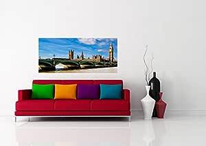 """AG DESIGN """"伦敦议会大本照片壁纸,多色,202 x 90 cm"""