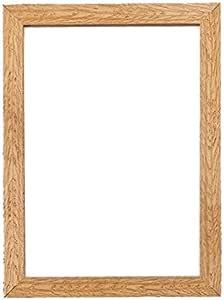 """宽彩纸屑木框系列图片/照片/海报框 - 带 MDF 背板 - 可直接悬挂或立架 - 带高净度苯乙烯防碎Perspex 床单 - WD-Cnfeti-rnge-parent 橡木色 16"""" x 12"""" WD-Cnfeti-rnge-oak-16-12"""