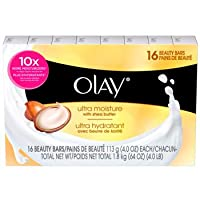 Olay Ultra Moisture Beauty Bars 16 count (4 oz each)