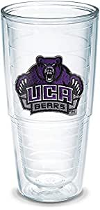 Tervis 1040080 Central Arkansas University Emblem Individually Boxed Tumbler, 24 oz, Clear