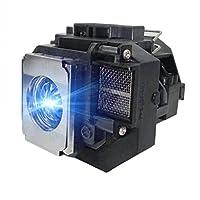 替换灯 ELPLP54 V13H010L54 带外壳适用于 PowerLite Home Cinema 705HD EX31 EX51 EX71 EB-S7 EB-X7 EB-S8 EB-X8 EB-S82 EB-W7 EB-W8 投影仪灯泡 Tawelun 出品