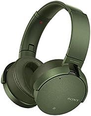 SONY索尼?MDR-XB950N1?头戴式重低音无线蓝牙降噪耳机 军绿色?