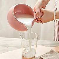 日式陶瓷奶锅 汤锅陶瓷锅砂锅 宝宝婴儿辅食热奶煮粥 (700ml, 粉色)