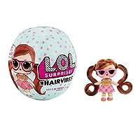 MGA Entertainment L.O.L. Surprise! 带有15种惊喜的美发娃娃,混合相匹配的假发