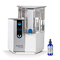 AQUA TRU 台面过滤净化系统与完美矿物质滴水* 4 - 阶段超反渗透技术(无需水管或安装)| 不含 BPA