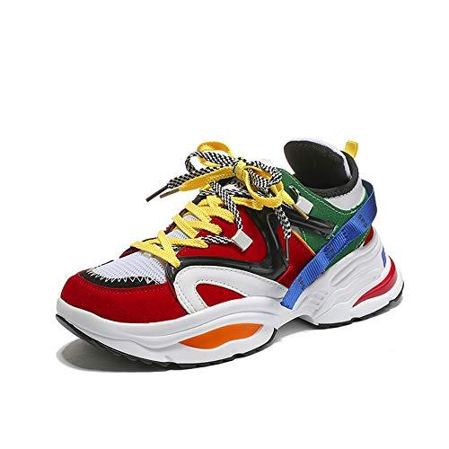 AOSENDUN 奥森盾 新款男鞋厚底运动鞋 休闲潮流户外休闲鞋 男士增高INS超火鞋子 18027