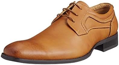 VIRILE 商务鞋 男款 浅棕色 25.0 cm