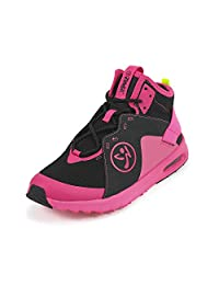 Zumba 女式 AIR 经典运动舞蹈 锻炼 带 Max 防撞运动鞋