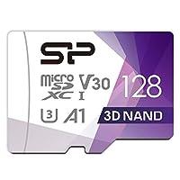 Silicon Power microSD 卡 2019年模型 【Amazon.co.jp限定】SP128GBSTXDU3V20AB 128GB