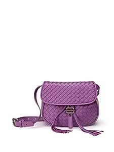 VoyageTime clever玲珑系列 女式 羊皮单肩包 VTSD-007 紫色 均码(亚马逊自营商品, 由供应商配送)