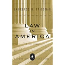 Law in America: A Short History (Modern Library Chronicles Series Book 10) (English Edition)
