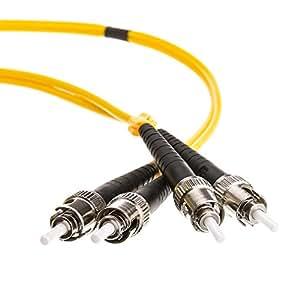 eDragon ED85511 光纤电缆,LC/LC,多模式,双工,62.5/125,1mED702526 ST/ST, Singlemode, Duplex, 9/125 2 Meter (10 Pack)