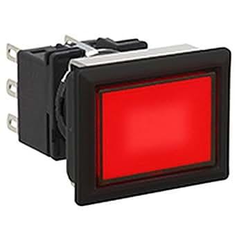 IDEC(アイデック) 照光押ボタンスイッチ LBシリーズ フラッシュシルエット 長角/オルタネイト形 LB8L-A1T13VR