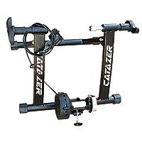 catazer 室内自行车训练器锻炼支架可折叠自行车健身支架适用于公路山地车训练 26-29 英寸