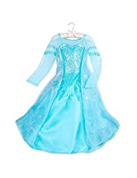 Disney Elsa 儿童服装 - 冰雪奇缘蓝