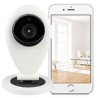 Hikam S6:摄像机用于保护家庭*的摄影机 (监控摄像机 带人体识别功能 IP 摄像机 HD 带德语软件/指南/支持)