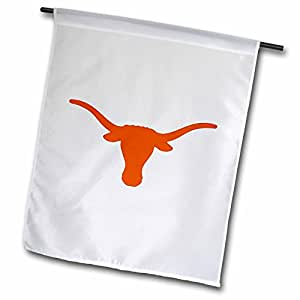 标志–longhorns–旗帜 12 x 18 inch Garden Flag