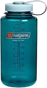Nalgene 乐基因 中性 运动水瓶经典广口1000ML 2178-2040 松石蓝