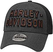 HARLEY-DAVIDSON 官方男式拼色 9Forty 帽灰色