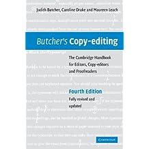 Butcher's Copy-editing: The Cambridge Handbook for Editors, Copy-editors and Proofreaders (English Edition)