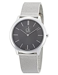 Calvin Klein 卡尔文克莱恩 美国品牌 瑞士制造 石英男士手表 K3M21124