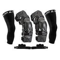 Ossur CTi 护膝套装 - 摩托车越野版 - 包括左右两侧、髌骨保护罩、齿轮防护罩、反移位护套、袖下和 CTi 贴纸 X大码 1.00