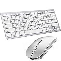 蓝牙键盘和鼠标适用于 iPad 和 iPhone 蓝牙键盘,兼容 iPad / iPad Pro / iPad Air / iPad Mini 和其他蓝牙设备(iPad OS 13 / iOS 13 及以上)