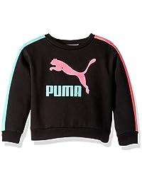 PUMA 女童羊毛套头衫