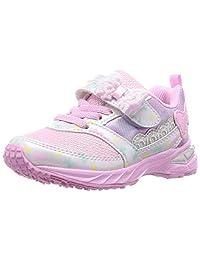 Syunsoku 瞬足 运动鞋 宽幅 轻量 15-23厘米 2.5E 儿童 女孩 LEC 6790
