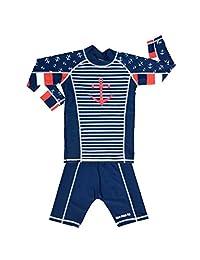 TEEPEETO 儿童 Anchor UV50+ *服长袖上衣和裤子