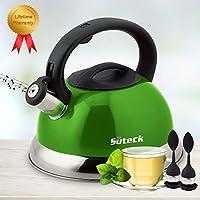 Whistling 不锈钢食品级茶壶 * 3.3Qt ST-800