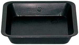 Gro PRO 方形碟形适用于1/ 2GAL 锅 黑色 0.5 Gallon