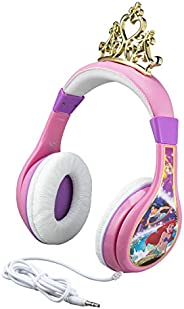 Disney 迪士尼 兒童 小美人魚愛麗兒 公主風友好型青少年耳機