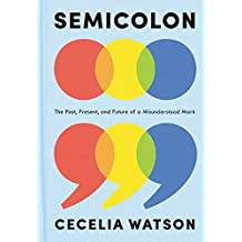 Semicolon: The Past, Present, and Future of a Misunderstood Mark (English Edition)