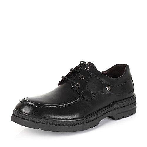 Senda 森达 森达冬季专柜同款棕色打蜡牛皮男皮鞋 HE102DM5