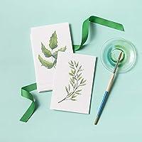 棠溪塘水彩纸空白DIY明信片圣诞节新年礼物米白色淡彩画手绘卡片明信片尺寸:21枚