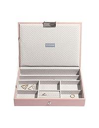 Stackers Blossom 粉色经典盖饰珠宝盒