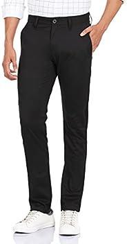 G-STAR RAW 男式 Bronson 修身斜纹棉布长裤 Black (Black 990) 25W / 32L