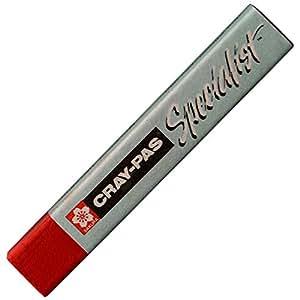 サクラクレパス クレパス スペシャリスト ESP#19(6) カドミウムレッドディープヒュー 6本
